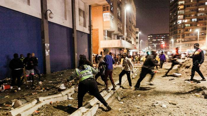South Africa Unrest: Troops Deployed To Restore Calm