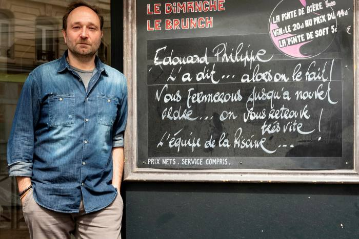 David Marciano must wait to until the end of the month to hear whether his bar La Piscine can reopen