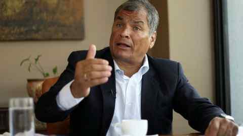 Rafael Correa 2019