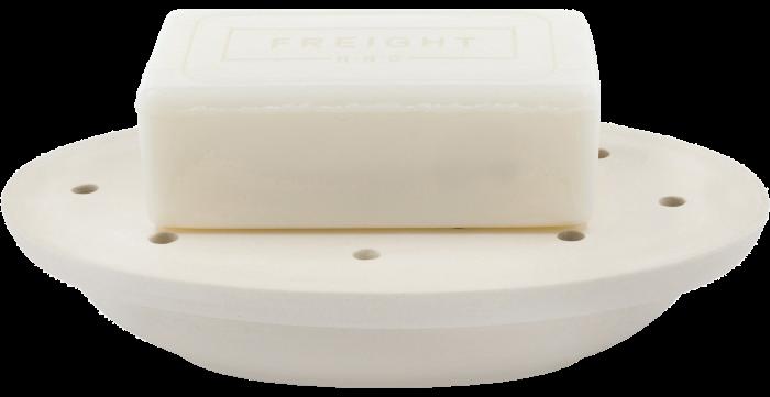 Stoneware soap dish, £34