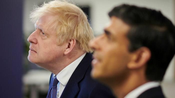 Top Tories warn Boris Johnson against demoting Rishi Sunak   Financial Times