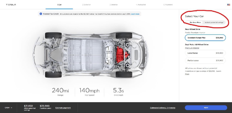 Finally, a Tesla Model 3 for $39,900 | FT Alphaville