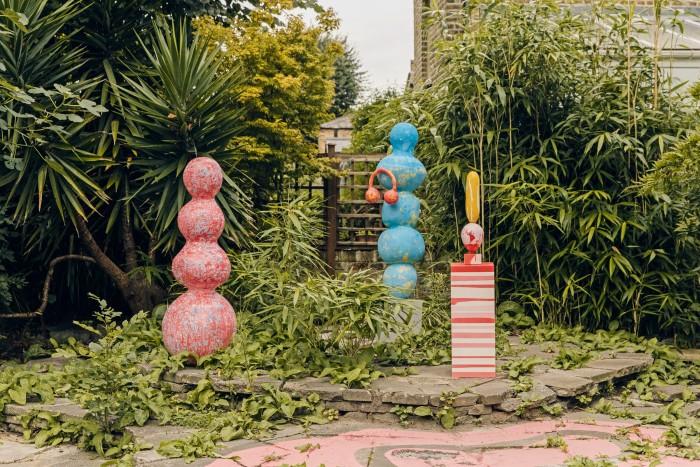 Garden sculptures by Christabel MacGreevy