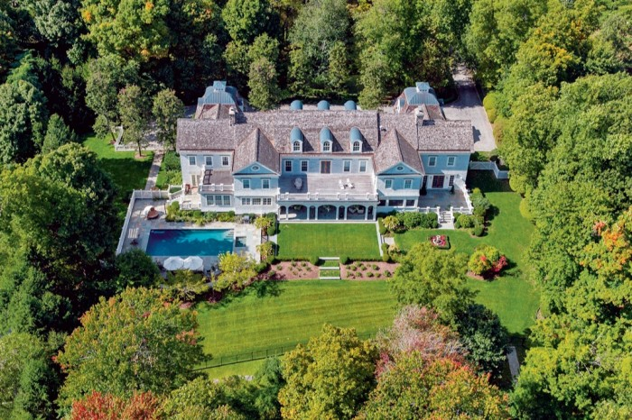 A six-bedroom housein Greenwich, forsale at $7.495m with Houlihan Lawrence
