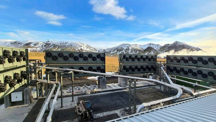 Climeworks' plant in Iceland