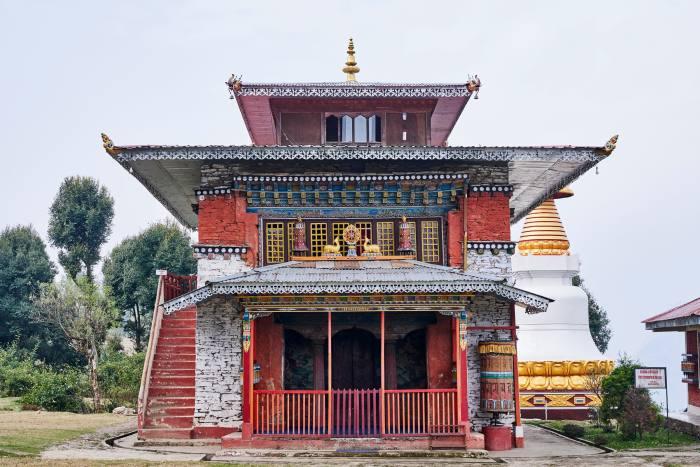 Rinchenpong, one of Sikkim's many monasteries