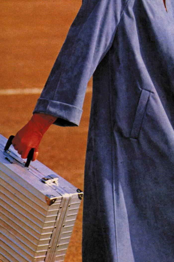 Rimowa advert from 1975, featuring the All-Purpose Duralumin case