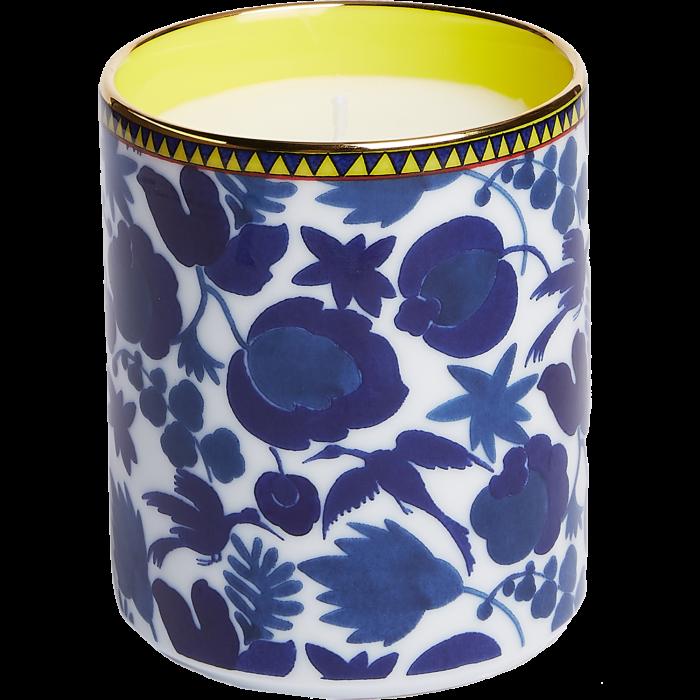 La DoubleJ Wildbird Blu wax candle, £99