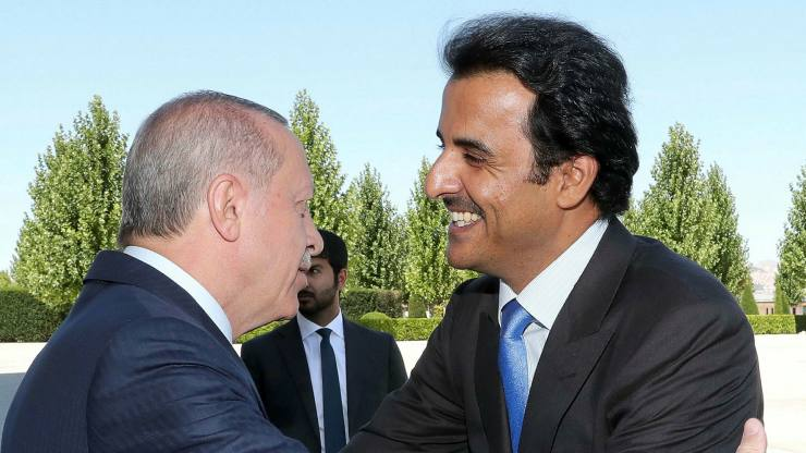 A nice moment between the President of Turkey and the Emir of Qatar. Necessary, but not sufficient.