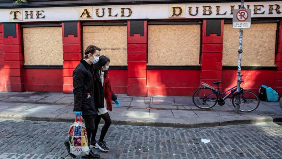 Ireland reels from mounting coronavirus job losses
