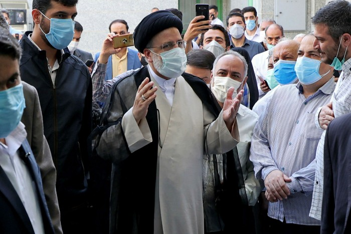 Incoming president Ebrahim Raisi was Ayatollah Khamenei's favoured candidate in the election