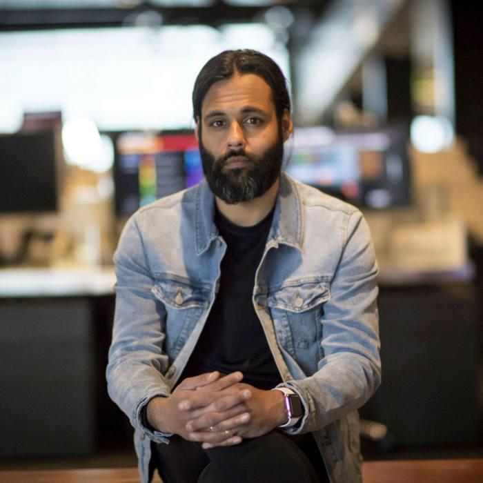 Baiju Bhatt, co-founder and co-chief executive officer of Robinhood Financial