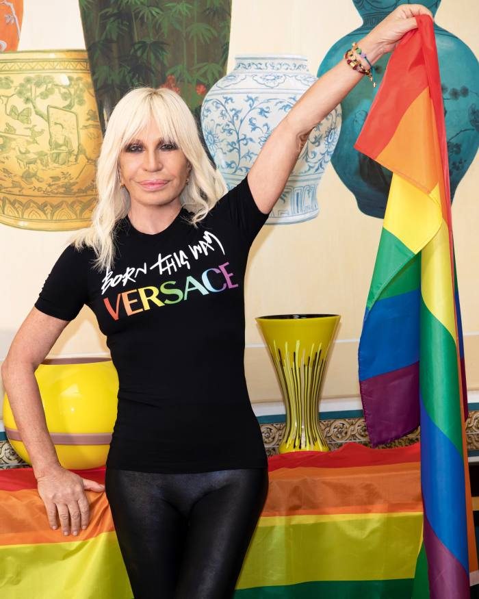 Donatella Versace and Lady Gaga collaborated on a capsule collection to celebrate the 10th anniversary of the album Born This Way