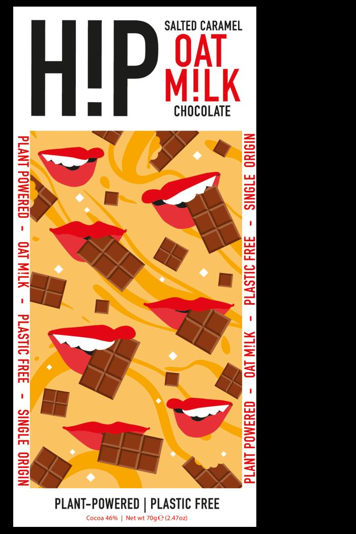 HiP Salted Caramel Oat Milk Chocolate, £2.95