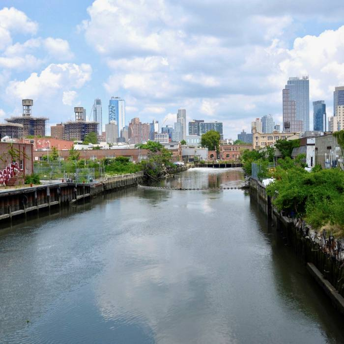 ...and keep going to Gowanus canal, a new hipster enclave
