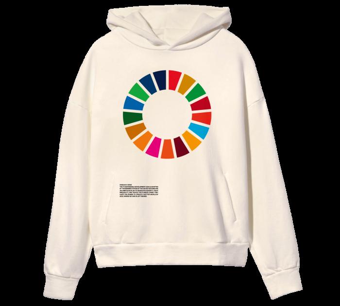 Pangaia recycled-cotton hoodie, £116