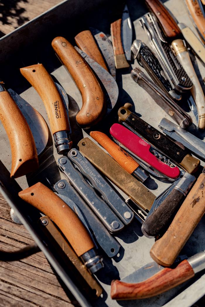 Don's collection of pocket knives