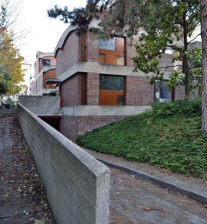 Le Corbusier's Maisons Jaoul in Paris, restored by Palumbo