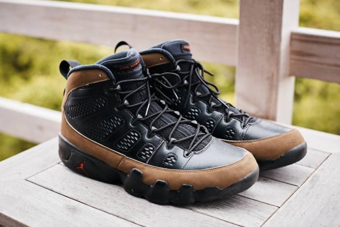 """I'msure people will think I'm insane for wearingthem"" – Air Jordan 9 Retros"