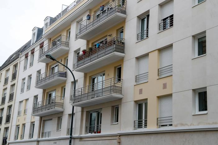 The building in Paris where Félicien Kabuga was arrested on May 16 2020. At dawn more than a dozen officers in black combat uniforms stormed the small third-floor apartment