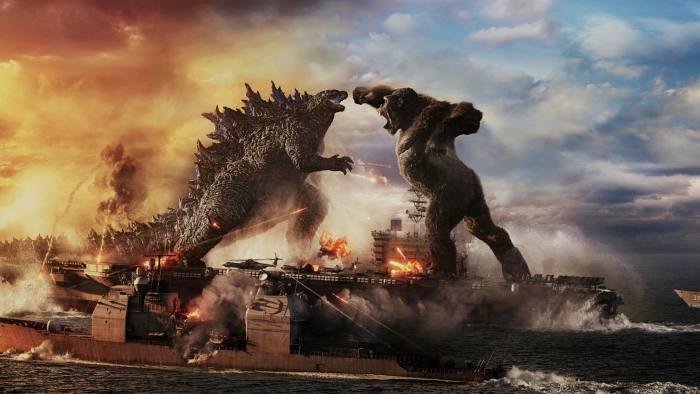 A scene from the Warner Bros Studios film 'Godzilla vs Kong'