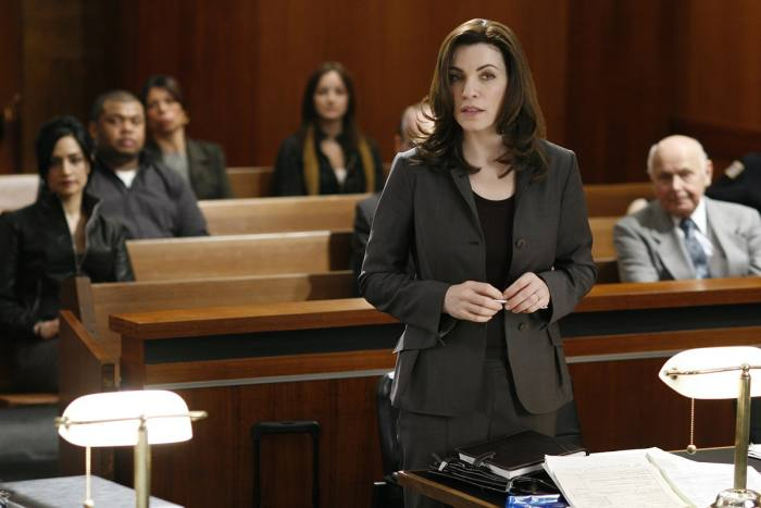 Margulies as Alicia Florrick in The Good Wife
