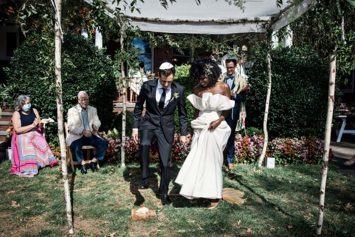 Mariage de Janine Nabers et Etan Marciano