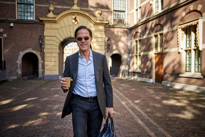 Dutch caretaker prime minister Mark Rutte