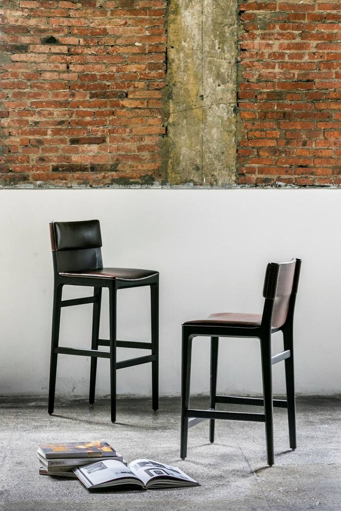 Chairs from the Taylor collection by Yabu Pushelberg