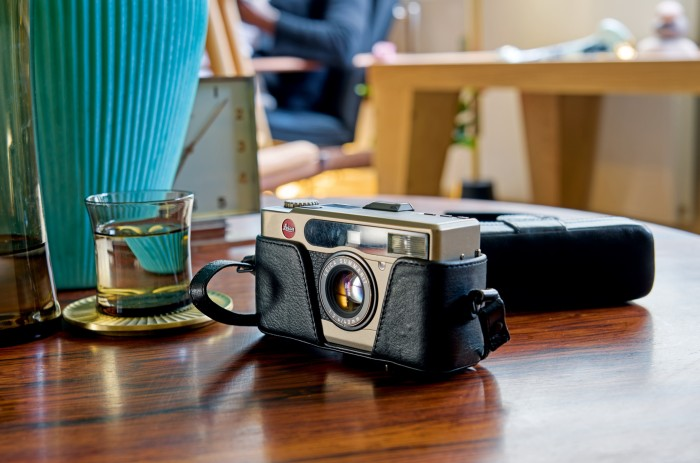 T-Michael's Leica Minilux camera – the gadget he would never part with