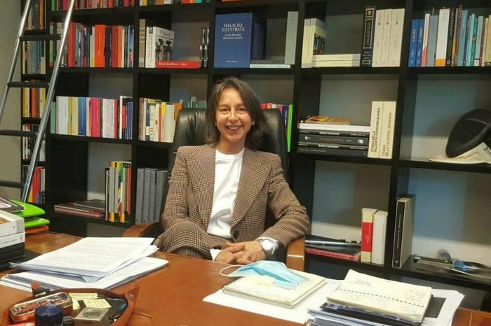 Francesca Masiero, president of PBA, in her office