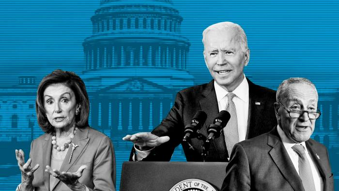 Biden's signature reforms jeopardised by Democratic infighting   Financial  Times