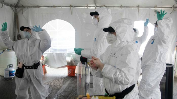 The coronavirus crisis has created an unprecedented sellers' market for personal protective equipment