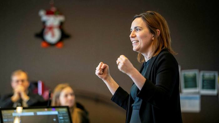 Winning professor Diane-Laure Arjaliès of Ivey Business School at Western University, Canada, has devised a course that reflects a growing focus on sustainability in curricula