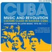 Album cover of 'Cuba: Music and Revolution' by various artists