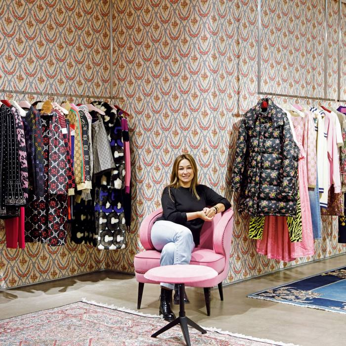 Aizel Trudel, the owner of Moscow's pioneering multibrand fashion store Aizel