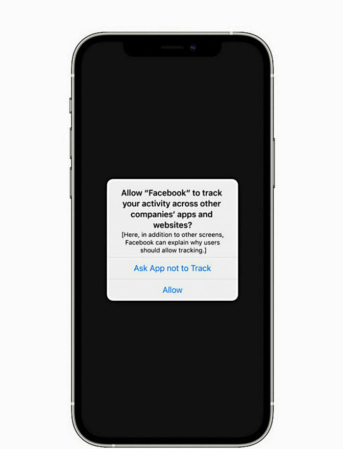 How tracking notifications will look in iOS14.5