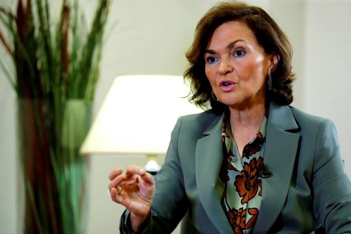 Carmen Calvo, Deputy Prime Minister