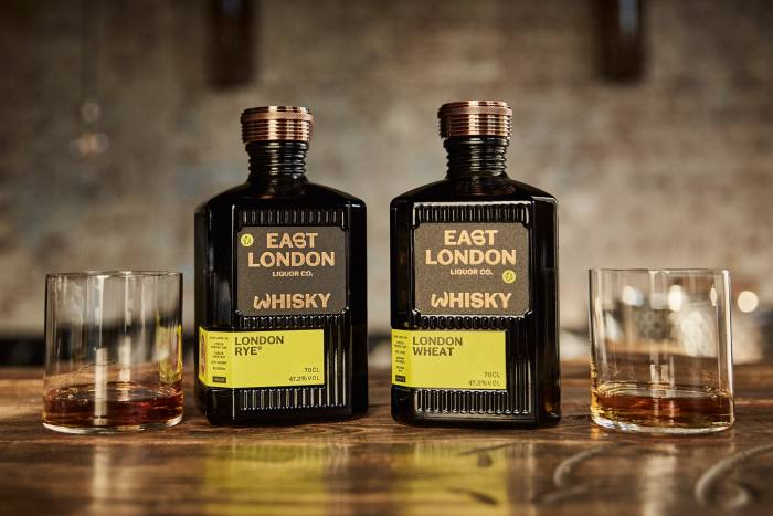 East London Liquor Company's oak- and chestnut-aged rye, £75