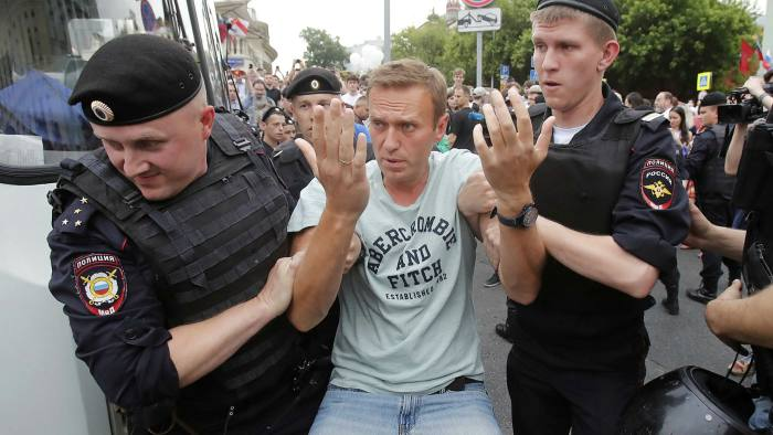 Opposition leader Alexei Navalny has been repeatedly arrested, nearly blinded in one eye and suffered a mysterious 'acute allergic reaction' in jail last year