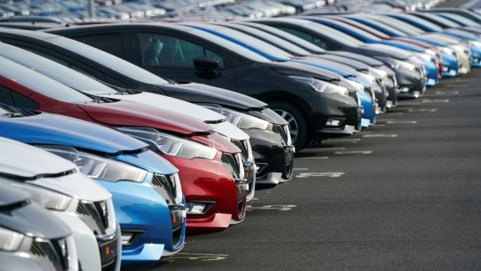 EU won't grant preferential trade terms to UK car industry, admits Frost    Financial Times