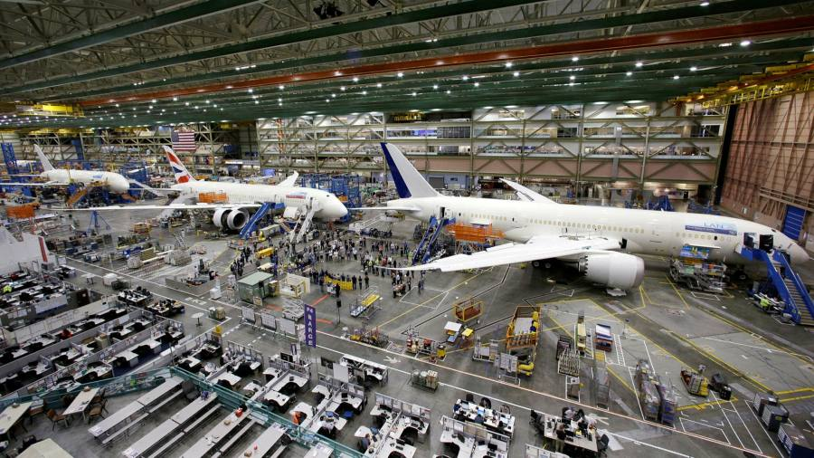 Boeing slashes expectations for global passenger jet demand by 11% – Financial Times