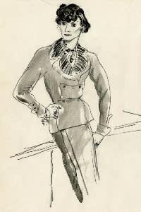 Chanel jacket: 1930s
