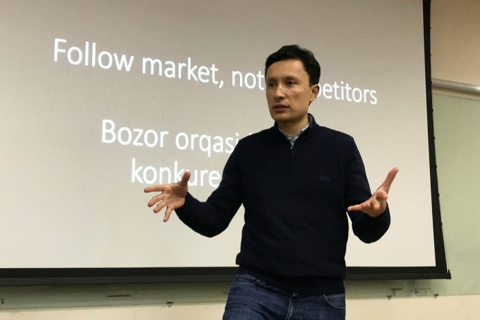 Akmal Paiziev, CEO of Newmax Technologies
