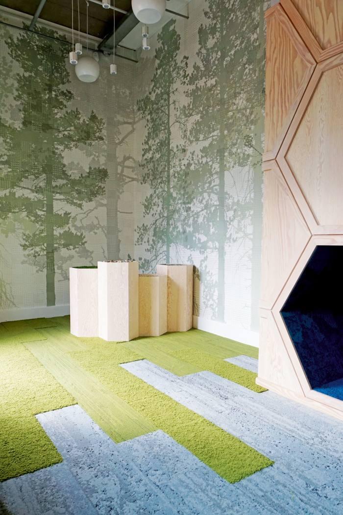 Garden school based on biophilic principles by Oliver Heath Design Ltd