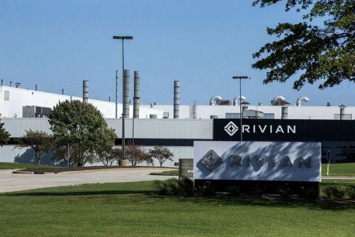 Rivian has taken over the former Mitsubishi factory in Normal, Illinois