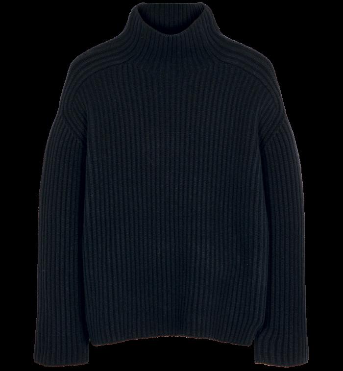 Acne Studios wool jumper, £360, liberty.co.uk