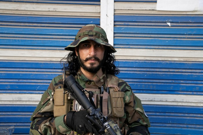 A Taliban fighter, encountered on the streets of Kabul