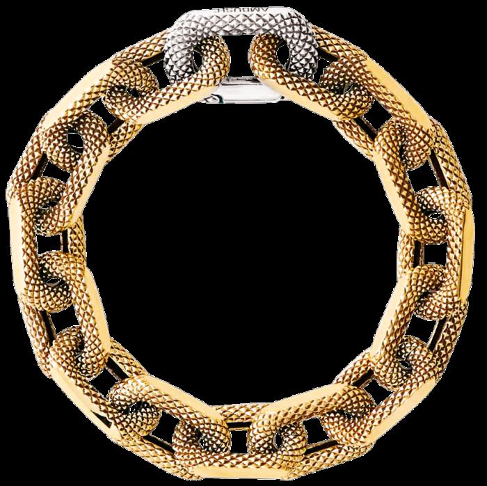 Ambush silver Texture Chain bracelet in gold, £2,570