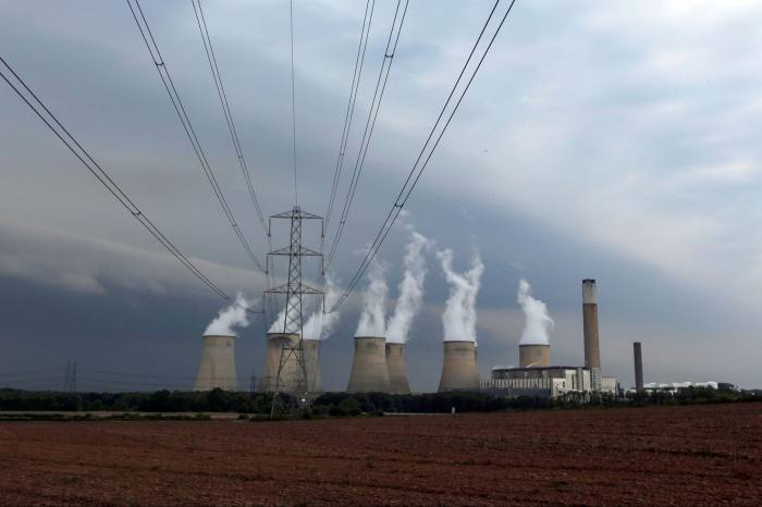 End of the line: the UK is to phase out coal-fired power stations by 2024
